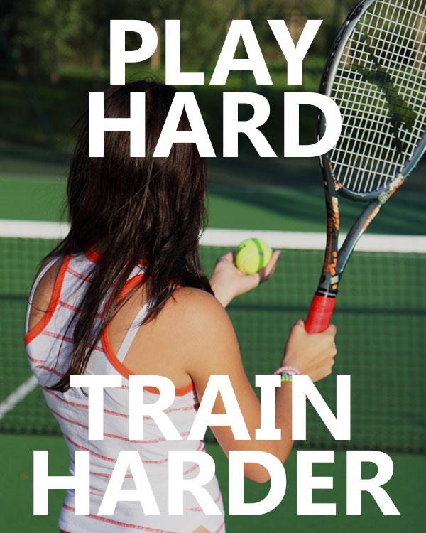 Play Hard, Train Harder